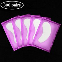 10/300pairs Eye Extension Eye Stickers Hydrogel Patches Grafting Eyelashes Under Pads Lashes Accessories Lash Extension Pads