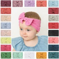 1/3/5/10 PCS Fashion Multi-style Baby Girls Kids Toddler Bow Knot Hair Accessories Band Headband Turban Headwrap Hot Sale