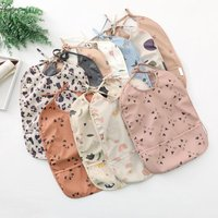 Lace Up Baby Bibs Waterproof Bib Feeding Supplies For Toddler Children's Complementary Food Anti-dirty Bag