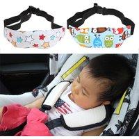 Baby Kids Head Support Holder Sleeping Belt Adjustable Safety Nap Aid Stroller Children Car Seat Sleep Nap Holder Belt Pad Strap