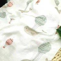 100% bamboo fiber muslin baby blanket swaddle wrap for newborn blankets babies bath towel very soft Multi-use big diaper bedding