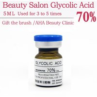 glycolic acid 70% 5ml glycolic aha speeler acid peeling Freckle peeling treatment lichen pilaris remove the acne scar Wrinkle