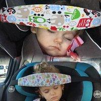 Baby Head Support Holder Sleeping Belt Adjustable Kid Stroller Head Belt Car Seat Head Support Children Belt Baby Saftey Pillows
