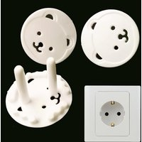 10pcs Baby Safety Child EU Electric Socket Outlet Plug Protection Safe Lock Cover ABS plastic Sockets Cover Plugs Protector