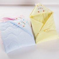 Toddler Baby Hooded Sleeping Bags Warm Newborn Kids Super Soft Blanket Sleeping Stroller Swaddle Wrap Infant Boys Girls Quilt
