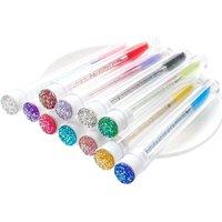 5/10 PCS Reusable Diamond eyebrow brush tube disposable Crystal MakeUp brushes Eyelash Extension replaceable Mascara Wands tools