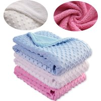 Baby Blanket Swaddling Newborn Baby Diapers Thermal Soft Fleece Blanket Solid Bedding Set Cotton Quilt Bath Newborn Products