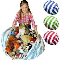 4 Colors Durable Cotton Stuffed Bag Cotton Stuffed Bag Large Capacity for Kids