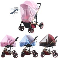 Baby Stroller Pushchair Mosquito Insect Shield Net Mesh Stroller Accessories Cart Mosquito Net Safe Infants Protection