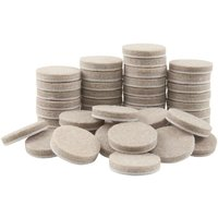 20-50pcs Round Thicker Felt Furniture Pads 20-30mm Thicker Protects For Floor Surface Anti Skid Scratch Tabs Leg Anti-Slip Pads