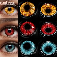 EYESHARE Cosplay Color Contact Lenses for Eyes AYY Series Makeup Sharingan Beauty Contact Lenses Eye Cosmetic Color Lens Eyes