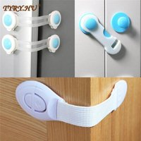 10Pcs/Lot Child Lock Protection Of Children Locking Doors For Children's Safety Kids Safety Plastic Protection Safety Lock