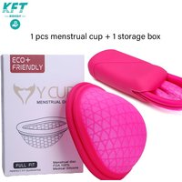 Reusable Menstrual Cup Medical Silicon Period Cup Sterilizer Menstrual Disc Menstruation Bowl Health women Menstrual Cup