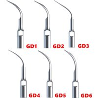 GD1 Dental Ultrasonic Scaler Tips for NSK SATELEC Machines Teeth Stains Remover Tips Replacement Tip Teeth Cleaning Blade Tips