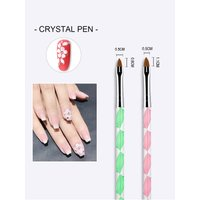 Nail Art Brushes For Gel Polish 5PCS/Set UV Dotting Painting Drawing Pen Nail Tip For Beauty Manicure Nails Accessoires