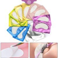 10/20 Pairs Eyelash Extension Eye Patches for Grafting Eyelashes Paper Eye Pads Gel Sticker Wraps Lash Patch Lash Makeup Tools