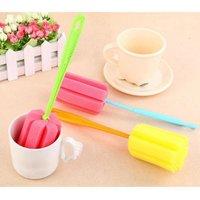 Kitchen Cleaning-Tool Sponge Brush For Wineglass Bottle Coffe Tea Glass Cup Brush Kit Bottle Clean Tool Bottle Feeding Brushes