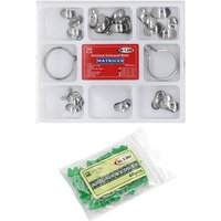 Dental Matrix Kit Sectional Contoured Matrices + 40 Pcs Silicone Add-On Wedges Dentist Materials