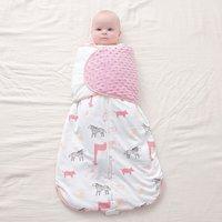 Baby Sleeping Bag Sack Sleeves Infant Organic Cotton Sleepsack Wearable Blanket Winter Warm Soft Swaddle Bedding Anti Startle