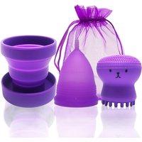 Feminine Hygiene Menstrual Cup Medical Silicone Copo Menstrual de Silicone Medica Period Cup Reusable Menstruation Collector