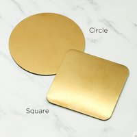 Japan's same ins style metal palette nail art display board jewelry photo props display plate