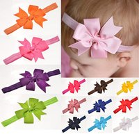 2018 Hot Hair Bands Floral For Girls Selling Kids Headband Baby Girls Flower Headband Lace Bow Hairband Flower Headbands