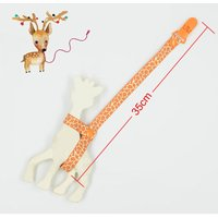 2019 BABY Giraffe holder chain clip teehter holder anti lost teether clip chain pacifier clip for pacifier I0140