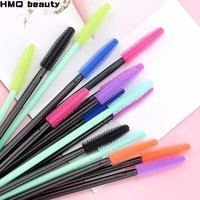 Disposable Silicone Gel Eyelash Brush Comb Mascara Wands Eye Lashes Extension Tool Professional Beauty Makeup Tool For Women