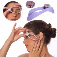 Mini-size facial hair removal kit spring-threaded facial hair remover DIY beauty kit cheek brows