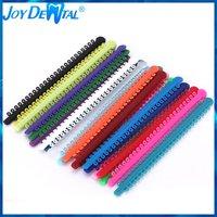 1Pack=1000PCS/20Sticks Dental Orthodontic Elastic Ligature Ties Bands for Brackets Braces Colourful to Choose