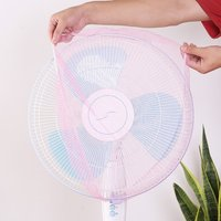 Dustproof Anti Dust Fan Protection Protective Cover Child Baby Safety Nylon Rope
