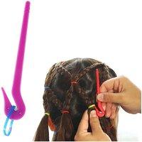 1pcs Fashion Durable Hair Bands Rubber Cutter For Girls Kids DIY Hair Styling Headwear Rubber Band Cutting Tool Hair Accessories