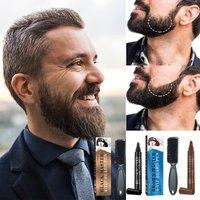 Beard Filling Pen And Beard Finishing Waterproof Beard Pen Set Beard Styling Filling Pen Natural Finish Waterproof Beauty Tool