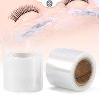 1 Roll 200M Eye Use Clear Plastic Wrap Tattoo Eyebrow Film Professional False Eyelashes Extension grafting Permanent Makeup Tool