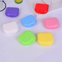 Denture Set Box Orthodontic Fixation Device Denture Storage Box Tooth Protection Container