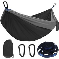 FashionCamping Hammock Double Single Lightweight Hammock with Hanging Ropes for Backpacking Hiking Travel Beach Garden