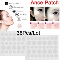 Skin Tag Remover Patch 36pc/lot Acne Remover Pimple Absorbing Cover Anti-Infection Invisible Hydrocolloid Treatment Skin Care