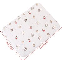 HUYU Baby Changing Pad Reusable Waterproof Stroller Diaper Folding Soft Mat Washable