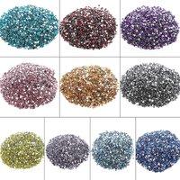 10000Pcs 3mm Rhinestones Crystal Clear AB Non Hotfix Flatback Nail Rhinestoens For Clothes Nails 3D Nail Art Decoration