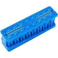 1pc Dental Autoclavable Endo Block Stand Ruler Dentist Instrument Ruler Product Equipment Mini Measuring Block Gutta Percha