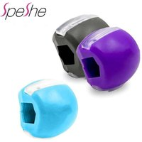 Chin Lifting JawLine Exerciser Ball Facial Jaw Muscle Toner Trainer Anti Wrinkle Face Double Slimmer Jawline Exercise Simulator