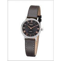 Regent Armbanduhr Damen Edelstahl Lederband - Angebote