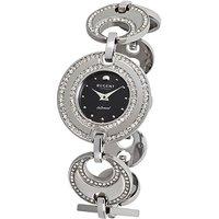 Regent Armbanduhr Damen Edelstahl Metallband