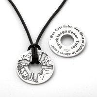 Goettgen Berchtesgadener Taler 925 Sterling Silber