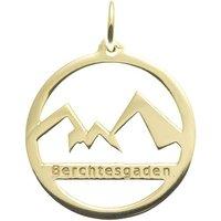 Goettgen Anhänger Watzmann Berchtesgaden 925 Silber vergoldet