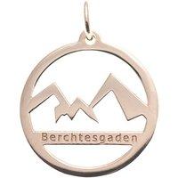 Goettgen Anhänger Watzmann Berchtesgaden 925 Silber rosé vergoldet