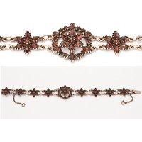 Goettgen Armband Granat 925
