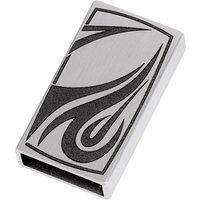Ernstes Design Wechselhülse, matt/graviert für Magnetverschluss