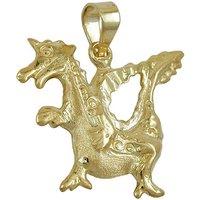 SIGO Anhänger, Drache, Gold 375