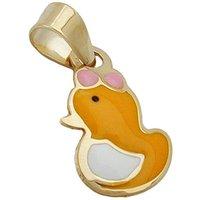 SIGO Anhänger, kleine Ente, Gold 375
